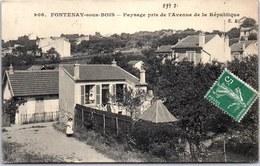 94 FONTENAY SOUS BOIS - Paysage Depuis L'av De La République - France