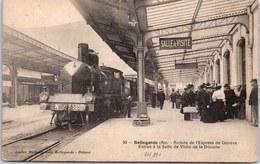 01 BELLEGARDE - Arrivée De L'express De Geneve - Bellegarde-sur-Valserine