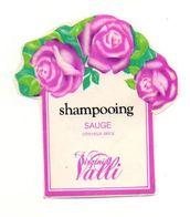 Autocollant Shampoing Sauge Virginia Valli - Format : 7x6.5 Cm - Adesivi