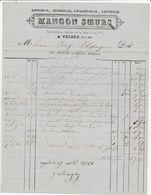 Puy De Dôme - Thiers - Mangon Soeurs - Lingerie,broderie,rubannerie,dentelle - Rue Bartasse 1861 - 1800 – 1899