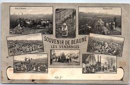 21 BEAUNE - Un Souvenir Des Vendanges - Beaune