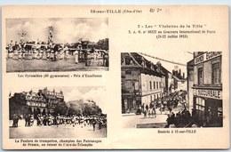 21 IS SUR TILLE - Carte Souvenir Des Fêtes De 1923 - Is Sur Tille