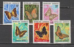 Gabon 1973  N ° 304 / 309  Neuf X X   Papillon - Gabon (1960-...)