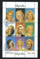 Sao Tomé E Principe Blocks&Feuillets: ''Marilyn Monroe'' Obl, CAD  TTB - Sao Tome En Principe