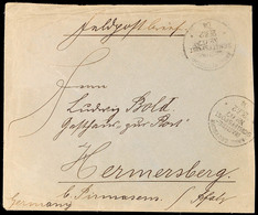 MSP No. 67 28.12.04, 2 X Klar Auf Feldpostbrief Mit Absenderangabe DSWA Nach Deutschland, Ankunftsstempel, Stärkere Rand - Colony: German South West Africa