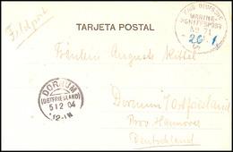 MSP No. 71 26.01.04 (D. Darmstadt), Recht Klar (Datum Hsl. Nachgetragen) Auf Feldpost-AK Mit Text Nach Deutschland, Ak.- - Colony: German South West Africa