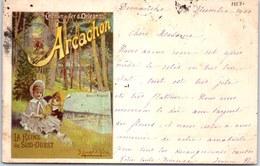33 ARCACHON - Carte Souvenir Chemin De Fer D'orleans - Arcachon