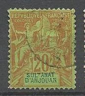 ANJOUAN N° 7 OBL - Anjouan (1892-1912)