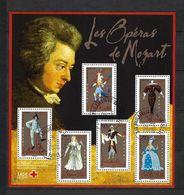 FRANCE Blocs Et Feuillets: ''Les Operas De Mozart'' Obl, CAD  TTB - People