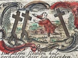 Image Pieuse - 18ième - GOUACHE - GRAVURE - C. De Boudt - 9.5 Cm X 6.5 Cm - Images Religieuses