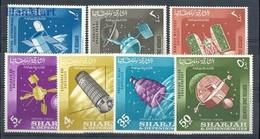 Sharjah 1964 Mi 54-60 MNH ( ZS10 SHA54-60 ) - Space