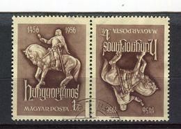 HONGRIE - Y&T N° 1200b° - Janos Hunyadi - Used Stamps
