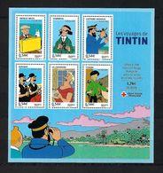 FRANCE  Blocks&Feuillets: ''Les Voyages De Tintin'' Neuf**  TTB - Mint/Hinged