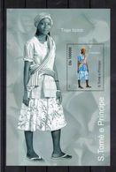 SAO TOME Et PRINCIPE  Timbre Neuf ** De 2010  ( Ref 6958 ) Costumes - Sao Tomé Y Príncipe