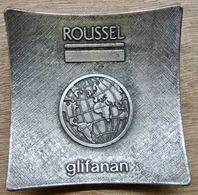 CENDRIER ROUSSEL GLIFANAN / MODELE DEPOSE DECAT PARIS - Pubblicitari