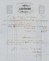 Ariège - Mirepoix - Castagné - Mérinos, Tricots, Molletons,flanelles  1871 - 1800 – 1899