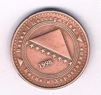 10 FENINGA  1998 BOSNIE EN HERZOGOVINA /5301/ - Bosnia And Herzegovina