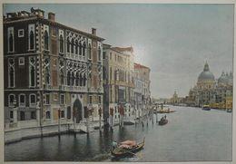 Italie. Grand Canal. Palais Cavalli. Photogravure Fin XIXe. - Stampe & Incisioni
