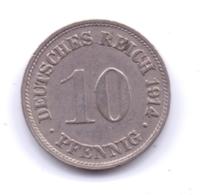 DEUTSCHES REICH 1914 G: 10 Pfennig, KM 12 - [ 2] 1871-1918 : Imperio Alemán