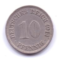 DEUTSCHES REICH 1914 F: 10 Pfennig, KM 12 - [ 2] 1871-1918 : Imperio Alemán