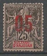 ANJOUAN N° 24 NEUF**  SANS CHARNIERE / MNH - Anjouan (1892-1912)