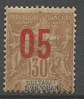 ANJOUAN N° 25 NEUF**  SANS CHARNIERE / MNH - Anjouan (1892-1912)