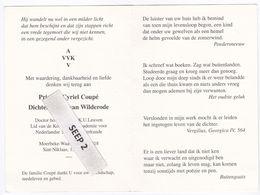 DP Priester Cyriel COUPé (Dichter Anton Van Wilderode) Moerbeke-Waas 1918-1998 St. Niklaas - Religion & Esotérisme