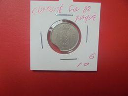 +++CURIOSITE+++Baudouin 1er. 1 FRANC 1963 FR FIN DE PLAQUE (A.10) - 04. 1 Franco