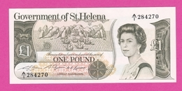 SAINT HELENE  Billet 1 Pound ( 1982 ) Sign 2 Pick 9 NEUF - Sint-Helena