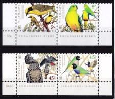 Australia 1998 Endangered Birds WWF Set Of 4 MNH - - Neufs