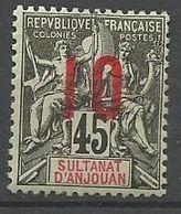 ANJOUAN N° 27 NEUF**  SANS CHARNIERE / MNH - Anjouan (1892-1912)