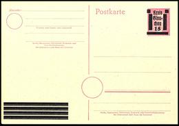 Ganzsachen-Postkarte P B893I Tadellos Postfrisch, Gepr. Zierer BPP, Mi. 125.-, Katalog: PB893I ** - Glauchau