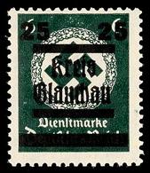 25 Auf 6 Pf. Tadellos Postfrisch, Gepr. Penning BPP, Mi. 55.-, Katalog: 32 ** - Glauchau