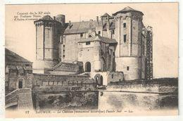 49 - SAUMUR - Le Château - Façade Sud - LL 22 - Saumur