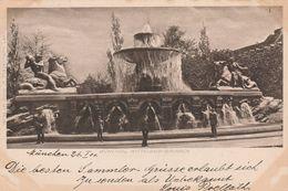 München -1901 - Wittelbach Brunnen - Scan Recto-verso - Muenchen