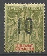ANJOUAN N° 30 NEUF**  SANS CHARNIERE / MNH - Anjouan (1892-1912)