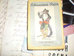 Playing Cards Scwarzer Peter Kunstverlag Ilse Wiener Lohne 21 Pieces - Cartes à Jouer Classiques