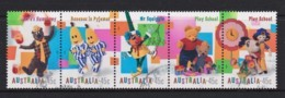 Australia 1999 Children's Television Strip Of 5 Used - 1990-99 Elizabeth II