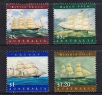 Australia 1998 Sailing Ships Set Of 4 Used - 1990-99 Elizabeth II
