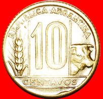 · BULL (1942-1950): ARGENTINA ★ 10 CENTAVOS 1948! LOW START ★ NO RESERVE! - Argentina