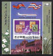 COREE DU NORD  Blocs&Feuillets 1993 :  ''Bangkok 93'' Obl, CAD  TTB - Corea Del Norte