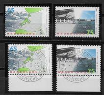 Nederland - 1986 - Yv. 1275 /  1276 - ** En O - Delta Werken. - Periodo 1980 - ... (Beatrix)