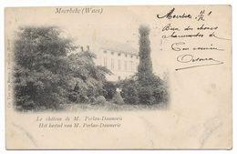 CPA PK  MOERBEKE WAES  LE CHATEAU DE M. PERLAU DAUMERIE - Belgien