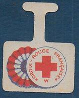 Insigne Carton  Croix Rouge Française - Insignes & Rubans