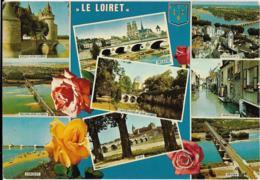 D45 - LE LOIRET PITTORESQUE-Sully/Loire-Meung/Loire:Jargeau/Orléans/Châteauneuf/Loire/Gien/Beuagncy/Montargis/Briare - Autres Communes