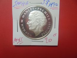 JAMAIQUE 5$ 1980 ARGENT QUALITE FDC (A.10) - Jamaica