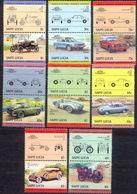 SAINT LUCIA - MNH - CARS - MI.NO.698/711 - CV = 9 € - St.Lucia (1979-...)