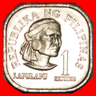· SHIP 1949: PHILIPPINES ★ 1 SENTIMO 1975 SLAYER OF MAGELLAN★UNC MINT LUSTER! LOW START ★ NO RESERVE! - Philippines