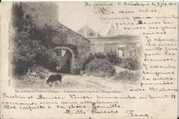 Les Environs De Fontaine-l'Evêque - L'ancienne Porte D'entrée De L'Abbaye D'Aulne 1902 (Thuin) - Thuin