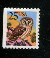 1035710608 SCOTT 2285 POSTFRIS MINT NEVER HINGED EINWANDFREI - OWL LEFT IMPERF. BIRD - United States